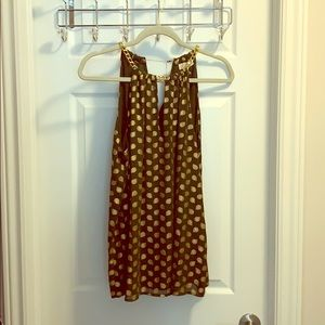 Michael Kors sleeveless top NWT